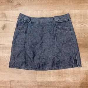 Denim skort (shorts / skirt)